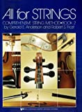 All For Strings (Comphehensive String Method, Book 2, Violin) (0849732352) by Robert Frost
