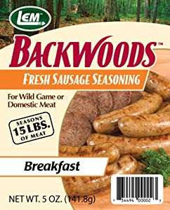 LEM Products Backwoods Fresh Sausage Breakfast Seasoning