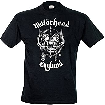 Rock Off - T-shirt Homme Motorhead England - Noir (Black) - Small