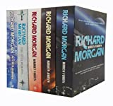 Richard Morgan Richard Morgan Gollancz S. F. 5 Books Collection Set RRP £ 39.95 (Woken Furies, Broken Angels, Market Forces, Altered Carbon, The Steel Remains)