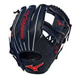 Mizuno MVP Prime SE GMVP1154PSE2 11.5 Special Edition Baseball Infield Glove - Navy Red by BTS