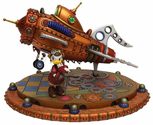 Disney Parks Steampunk Daisy Ducks Rocket Figurine