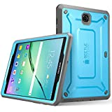 Samsung Galaxy Tab S2 9.7 Hülle, SUPCASE [Unicorn Beetle PRO Serie] Ganzkörper-Rugged Schutzhülle mit integrierter Displayschutzfolie / Gehäuse / Tasche / Cover / Case / Zubehör (Blau)
