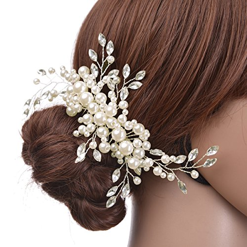 Remedios Crystal Jewelry Comb Bridal Headpiece Hair Clip Headband
