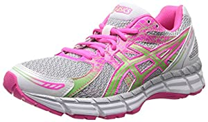 ASICS Women's Gel-Excite 2 Running Shoe,White/Mint/Hot Pink,6.5 M US