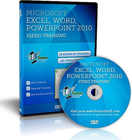 Microsoft Office Excel, Word and PowerPoint 2010 Training