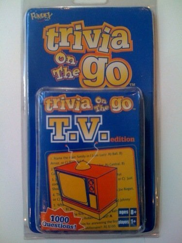 Trivia On the Go - TV edition by Fundex
