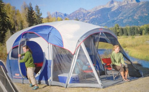 Coleman Weathermaster 7-person Screened Tent [Misc.] & Coleman Weathermaster 7-person Screened Tent [Misc.] ~ 6 person tent