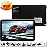 Hieha® 7' Zoll 8GB PKW KFZ Car Auto Taxi Europe Traffic GPS...