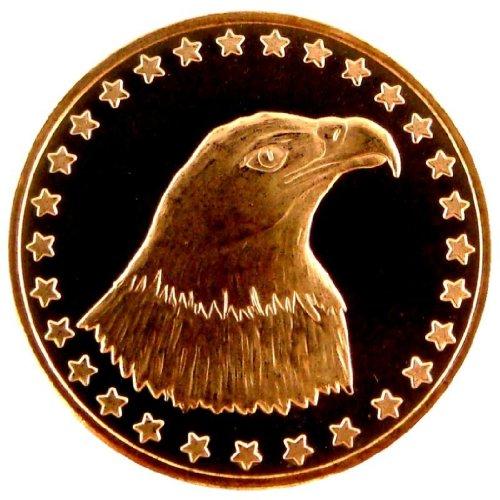 2011 Eagle Design 1 AVDP OZ. Copper Coin