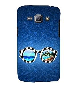 Beach Glasses 3D Hard Polycarbonate Designer Back Case Cover for Samsung Galaxy J2 (2016)