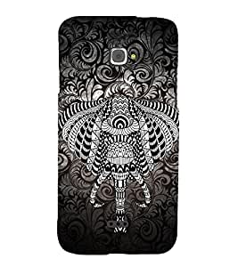 Indian Elephant Graphics 3D Hard Polycarbonate Designer Back Case Cover for InFocus Bingo 50
