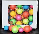 Neon weihnachtskugeln f r den tannenbaum - Weihnachtskugeln durchsichtig ...