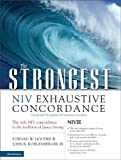 img - for The Strongest NIV Exhaustive Concordance (Strongest Strong's) book / textbook / text book