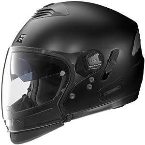 Nolan N43E Trilogy Outlaw Helmet (Flat Black, Small)
