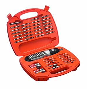 black decker a7071 battery powered screwdriver set 54 pieces diy tools. Black Bedroom Furniture Sets. Home Design Ideas