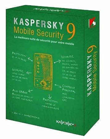 Kaspersky mobile security 9.0 - logiciel pour Smartphone (1 an de services inclus)