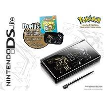 nintendo ds lite onyx black limited edition pokemon pack. Black Bedroom Furniture Sets. Home Design Ideas