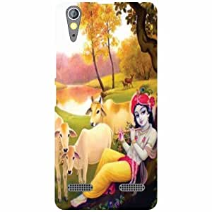 Lenovo A6000 Back Cover - Abstract Designer Cases
