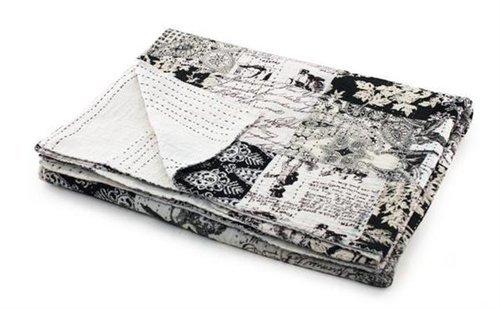 Signes Grimalt - Colcha Para Cama 270x220 cm Blanco y Negro 54556SG