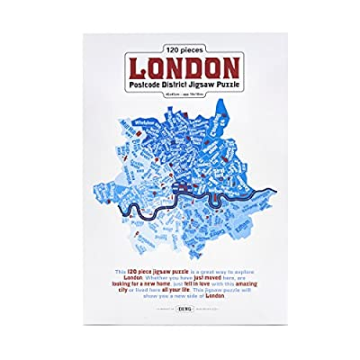 London Postcode Jigsaw Puzzle