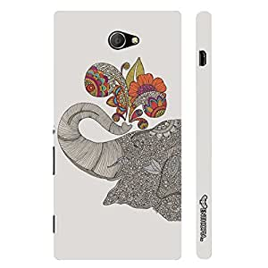 Sony Xperia M2 Indian Giant designer mobile hard shell case by Enthopia