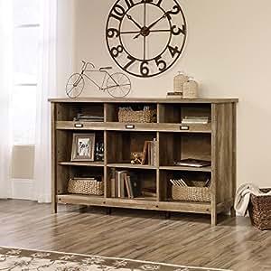 Adept Storage Credenza in Craftsman Oak -