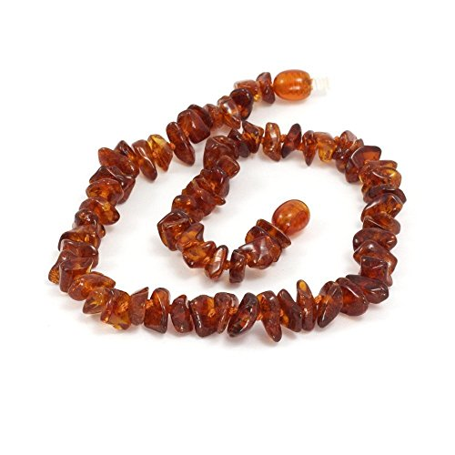 Momma Goose Amber Baby Chip Necklace - 1