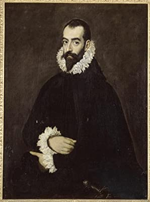 Artisoo Portrait of Juan Alfonso de Pimentel y Herrera - Size: 30 x 17 inches - El Greco