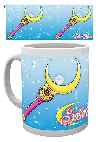 Sailor Moon– Tazza in ceramica, motivo: scettro lunare, dimensioni 9,5cm