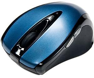 Revoltec C203 schnurlos mini Maus blau