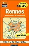 echange, troc Plans Blay Foldex - Plan de ville : Rennes, agglomération (avec un index)