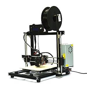"HICTOP Auto Leveling Desktop 3D Printer Prusa I3 DIY Kit Self-assembly 10.6"" x 8.3"" x 7.7"" Printing Size"