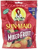 Sun Maid Mixed Fruit, 7-Ounce Pouches (Pack of 6)