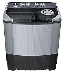 LG P8539R3SM Semi-automatic Washing Machine (7.5 Kg, Dark Grey)