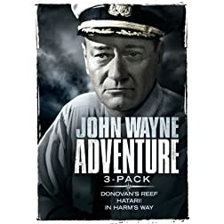 John Wayne Adventure Three-pack (Donovan's Reef / Hatari! / In Harm's Way)