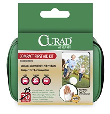 Curad Travel Kit In Soft Case, 75 Count from Curad