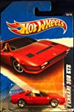 Hot Wheels 2011, Ferrari 308 GTS Red 128/240. All Stars. 1:64 Scale.