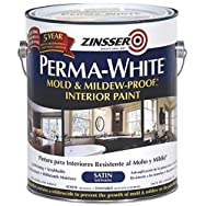 Perma-White Mold And Mildew-Proof Interior Paint-INT SAT WHT MILDEW PAINT