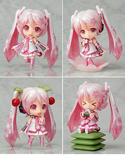 [Sakura Miku Nendoroid Action Figures Size 4 inches Changeable Head and Arm with Stand] (Megaman Halloween Costume)