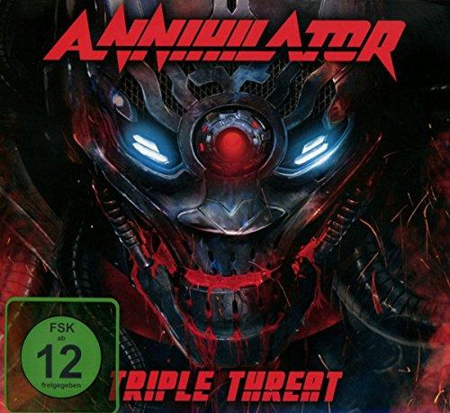 DVD : Annihilator - Triple Threat [explicit Content] (With CD, 3PC)