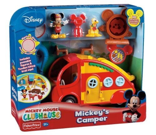 Game/Play Fisher-Price Disney'S Mickey Mouse Camper'S Playset Kid/Child front-790812