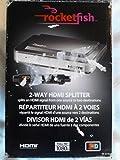 Rocketfish Rf-g1182 2-Way HDMI Splitter