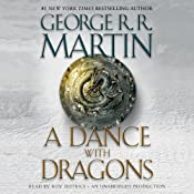 A Dance with Dragons audiobook cover