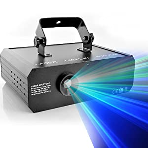 RGB 3D Laser Projector 500mW with Full Color Animation, DMX link CVLC-LT95