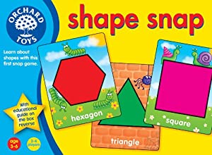 Shape Snap by Orchard Toys