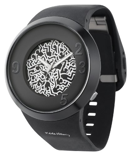 odm Keith Haring X Collection Watch Black DD127-14