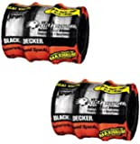 2 X Black & Decker AF-100-3ZP 30-Feet 0.065-Inch Line String Trimmer Replacement Spool, 3-Pack