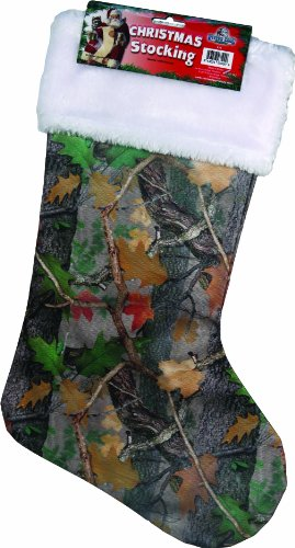 Rivers Edge Products Christmas Stocking, Camo, 20-Inch