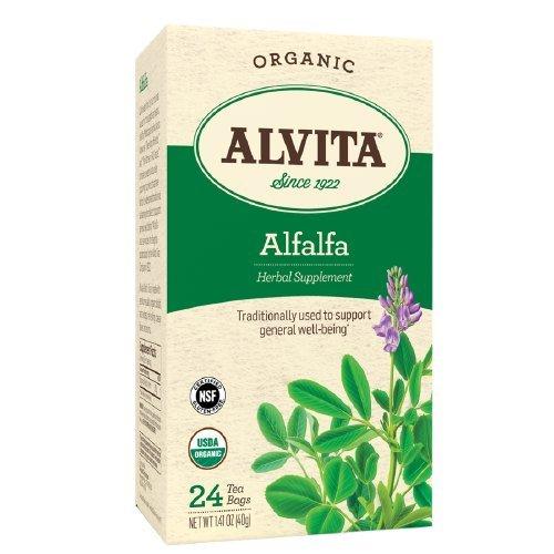 Alvita Tea Bag - Organic, Alfalfa 24 Ea